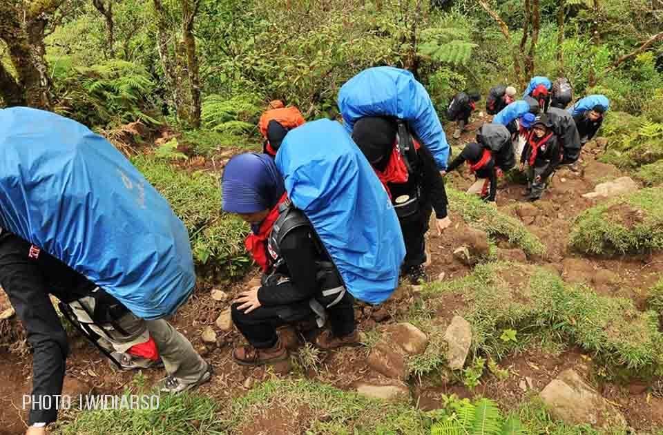 Jalur Pendakian Lembah Ramma Gunung Bawakaraeng