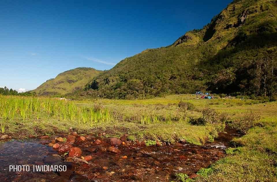Jernihnya air yg melintasi Lembah Ramma ini
