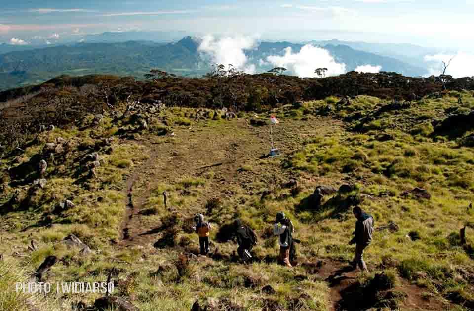 Kondisi Pos 10 Gunung Bawakaraeng