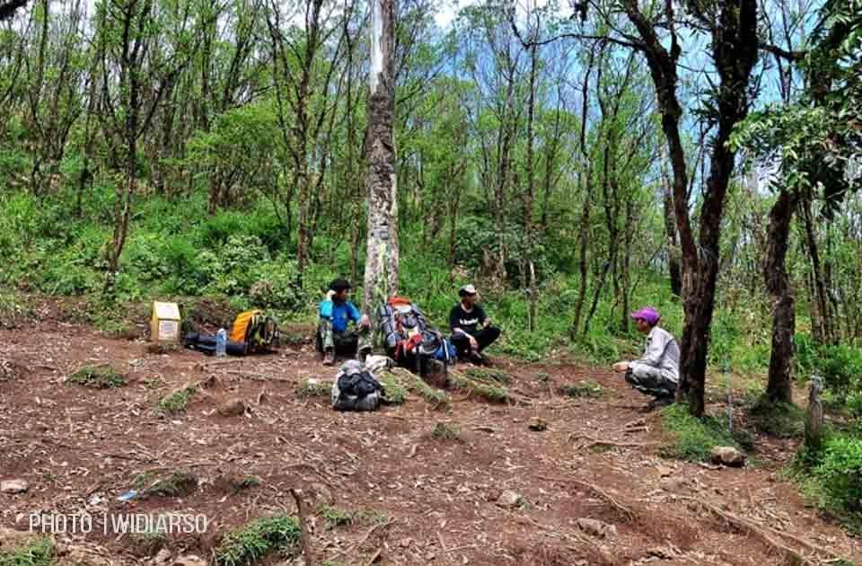 Kondisi Pos 2 Gunung Bawakaraeng