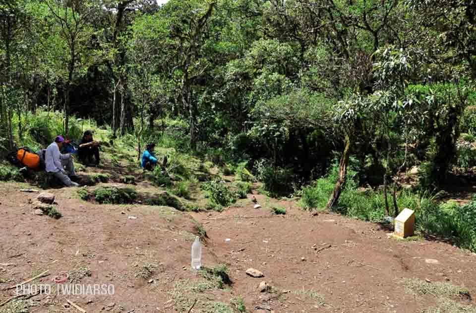 Kondisi Pos 3 Gunung Bawakaraeng