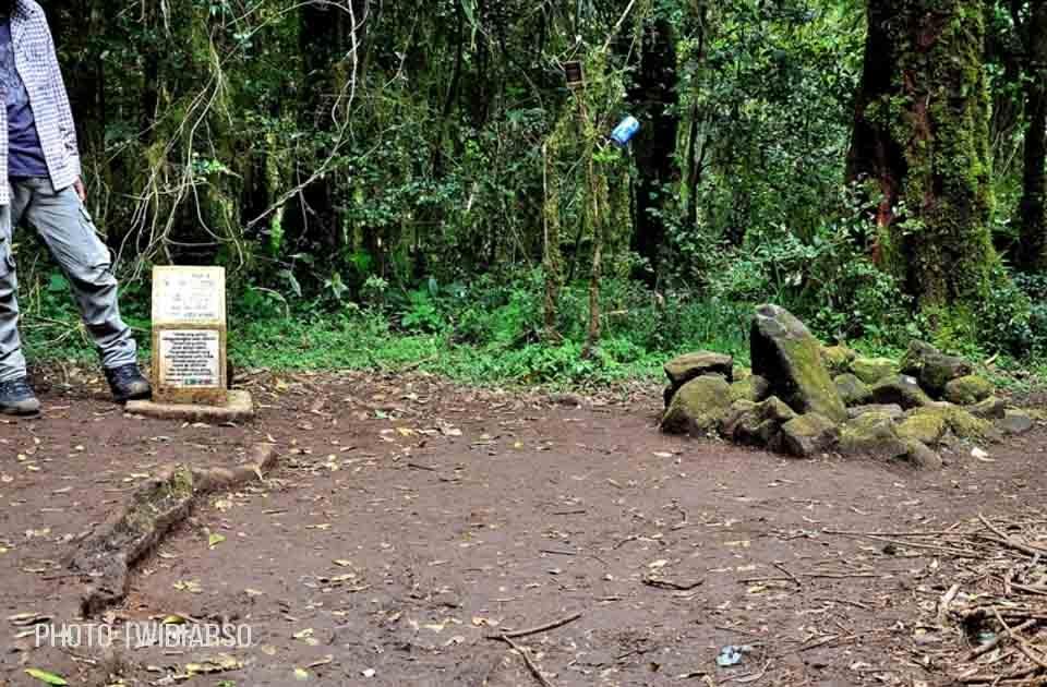 Kondisi Pos 4 Gunung Bawakaraeng