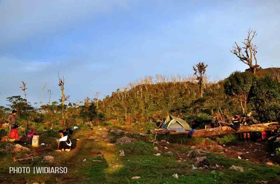 Kondisi Pos 5 Gunung Bawakaraeng