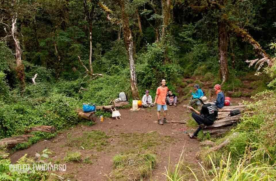 Kondisi Pos 6 Gunung Bawakaraeng
