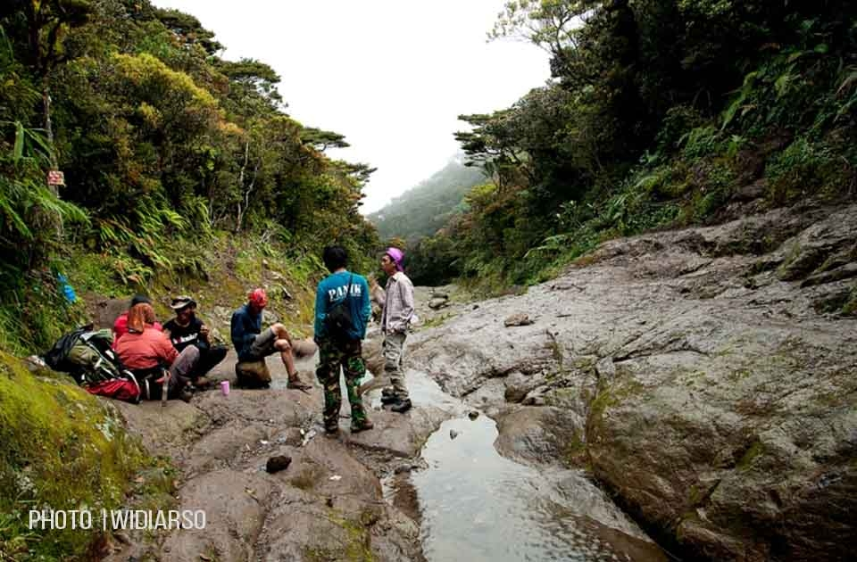 Kondisi Pos 8 Gunung Bawakaraeng