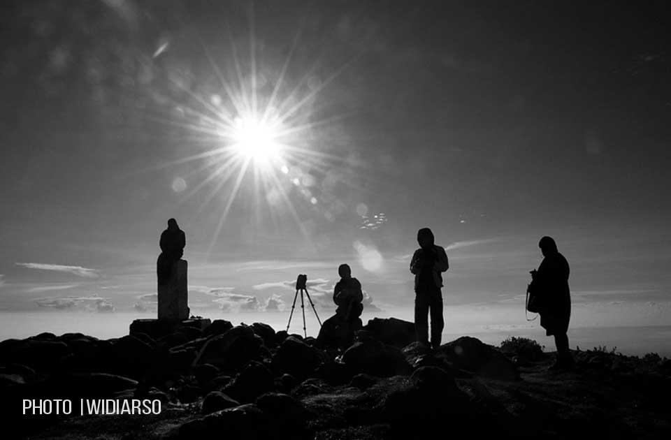 Kondisi Puncak Gunung Bawakaraeng