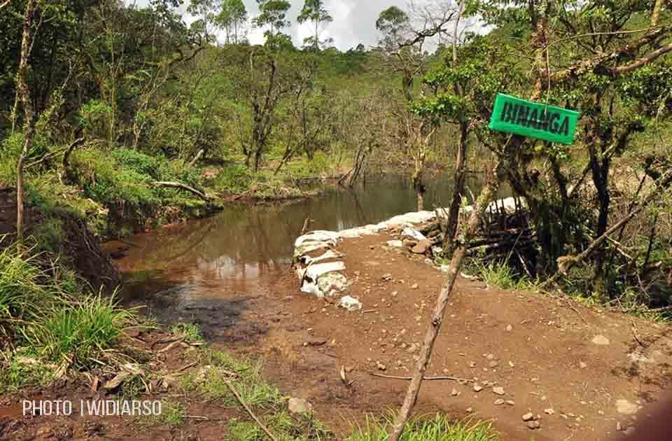 Sumber air 1 gunung Bawakaraeng