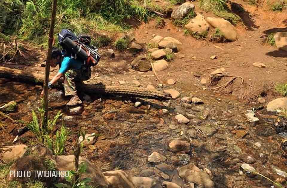 Sumber air 2 gunung Bawakaraeng