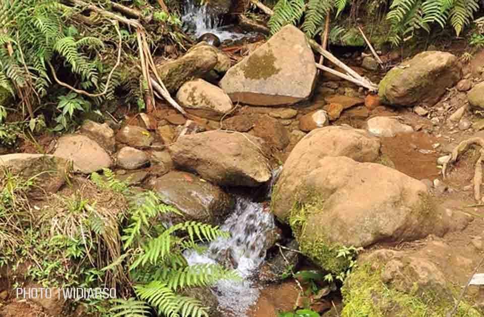 Sumber air 3 gunung Bawakaraeng