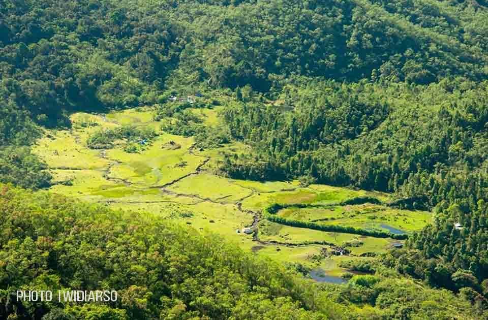 Lembah Ramma dilihat dari Talung